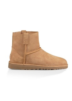 UGG® Women's Classic Unlined Mini Perforated Suede Boots