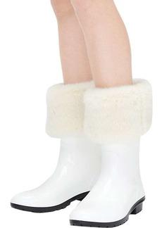 Ugg Women's Faux Fur Short Rainboot Sock