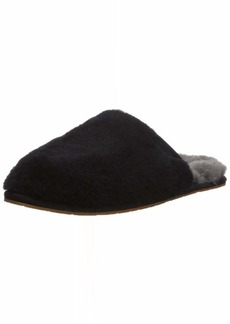 UGG Women's FLUFFETTE Slipper BLACK  M US
