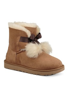 UGG� Women's Gita Sheepskin & Fur Pom-Pom Booties