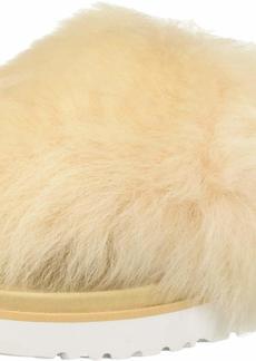 UGG Women's Holly Flat Sandal soft ochre  M US