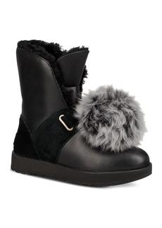 UGG� Women's Isley Waterproof Leather & Sheepskin Booties