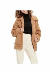 UGG Women's Jackeline Teddy Bear Jacket  L