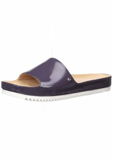 UGG Women's Jane Patent Flat Sandal   M US