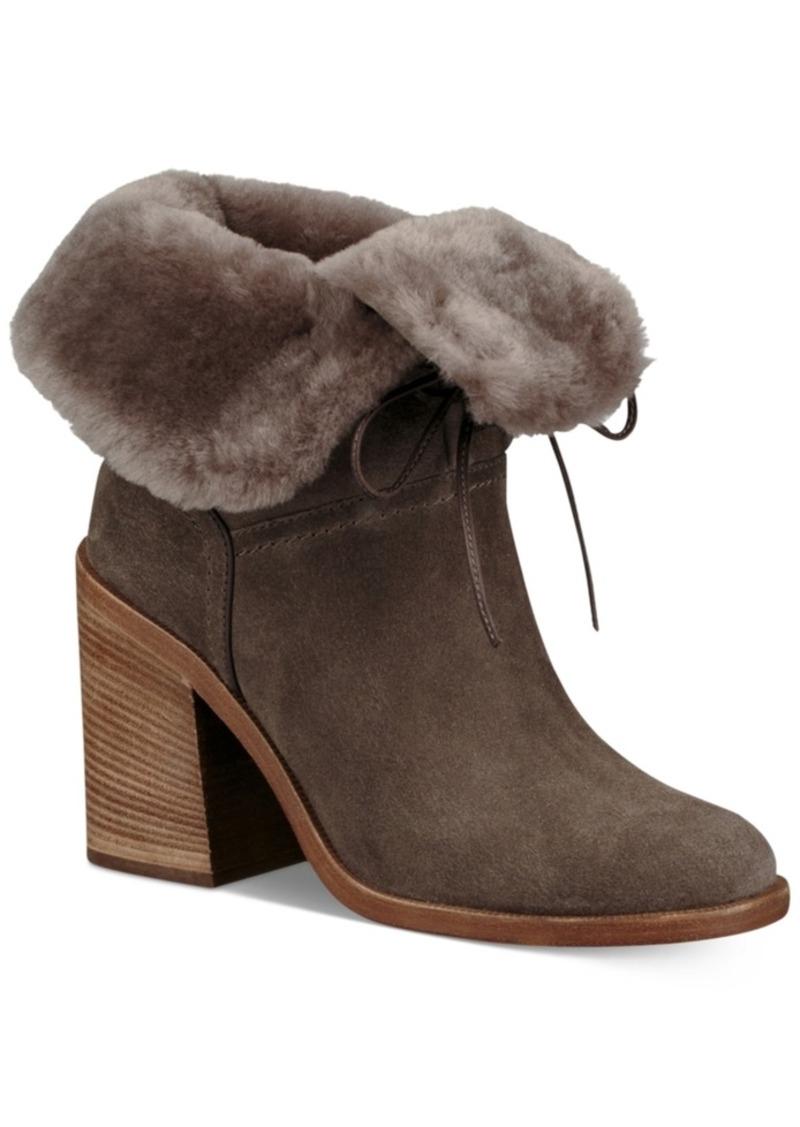 bceb5f94734 Women's Jerene Block-Heel Mid-Calf Lace-Up Boots
