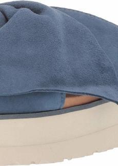 UGG Women's Joan II Flat Sandal DESERT BLUE  M US