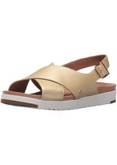 UGG Women's Kamile Metallic Flat Sandal