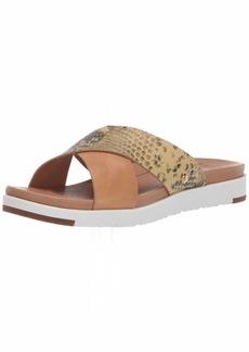 UGG Women's Kari Exotic Flat Sandal TAN  M US