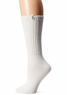 UGG Women's Rib Knit Slouchy Crew Sock  O/S