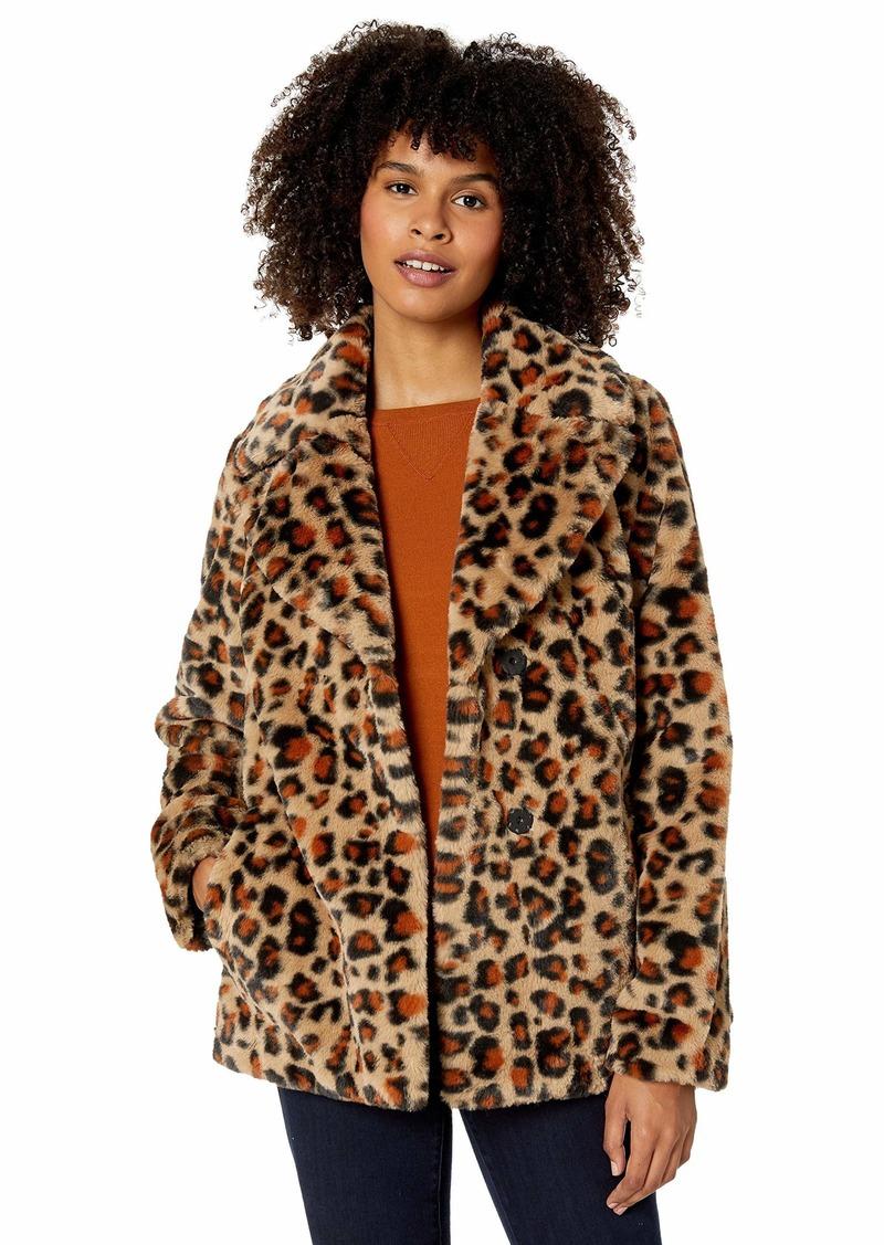 UGG Women's Rosemary Faux Fur Jacket  L