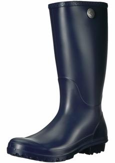UGG Women's SHELBY MATTE Rain Boot navy  M US
