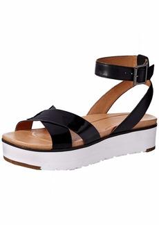 UGG Women's Tipton Flat Sandal BLACK  M US