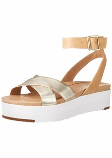 UGG Women's Tipton Metallic Flat Sandal   M US