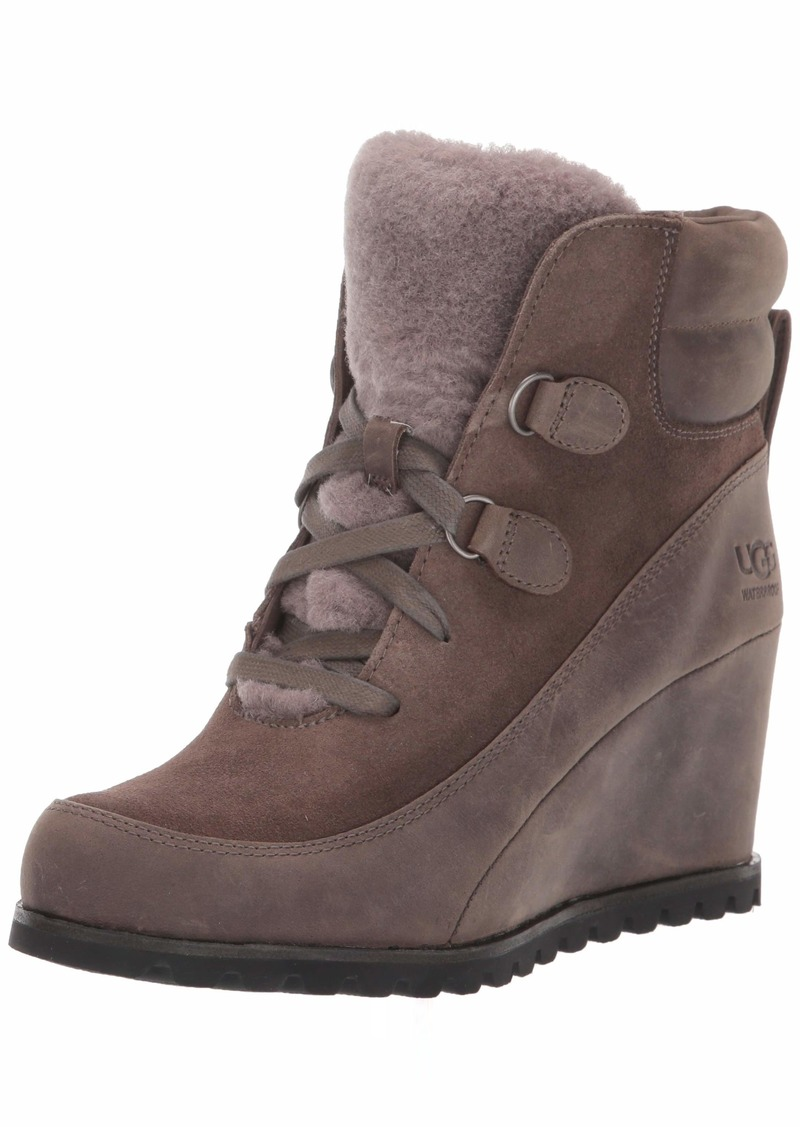 UGG Women's VALORY Ankle Boot mole  M US