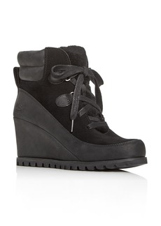 UGG Women's Valory Waterproof Cold Weather Wedge Booties