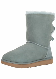 UGG Women's W Bailey Bow II Fashion Boot sea Green  M US
