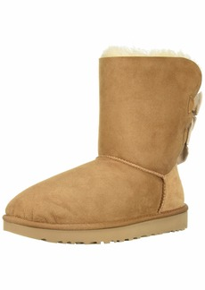 UGG Women's W Bailey Bow Short Ruffle Fashion Boot   M US