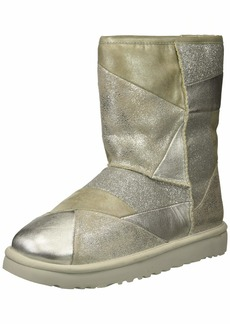 UGG Women's W Classic Glitter Patchwork Fashion Boot   M US
