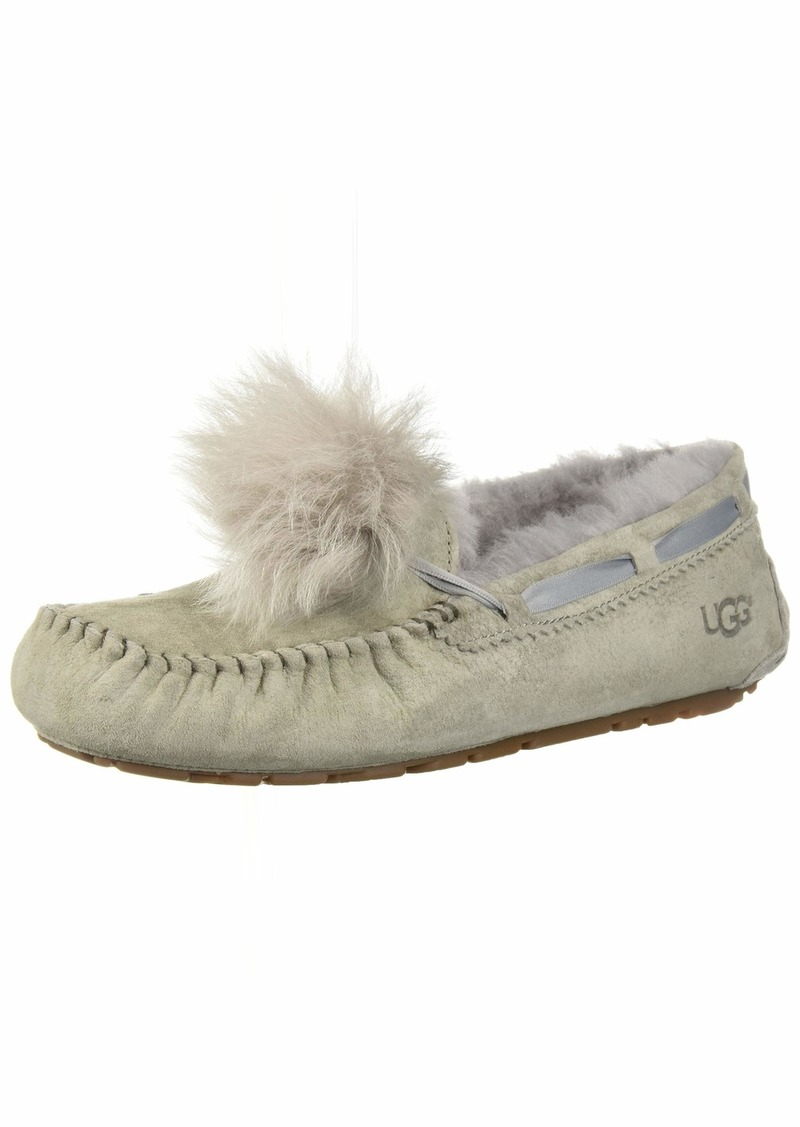 UGG Women's W Dakota POM POM Slipper   M US