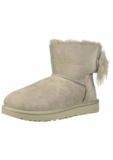 UGG Women's W Fluff Bow Mini Fashion Boot   M US