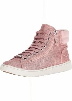 UGG Women's W Olive Glitter Sneaker pink  M US