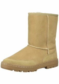 UGG Women's W Ultra Short Revival Fashion Boot sand  M US