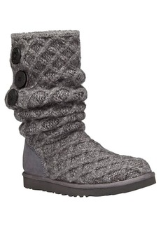 UGG Woven Wool Knit Tall Boots
