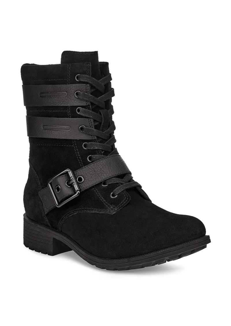 UGG® Zia Waterproof Combat Boot (Women)