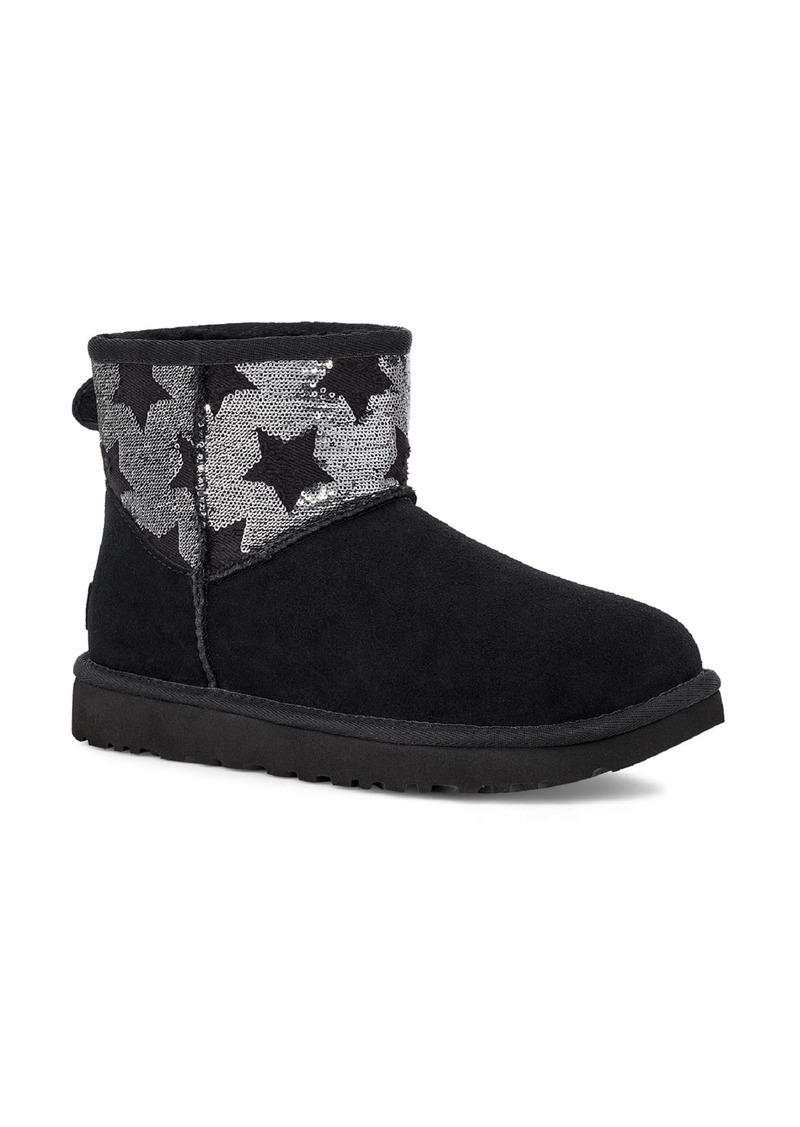 UGG®Classic Mini Sequin Stars Boot (Women)