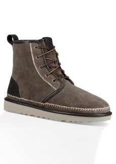 UGG Harkley Suede Stitch Plain Toe Boot