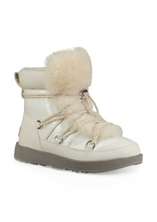 UGG(R) Highland Genuine Shearling Waterproof Bootie