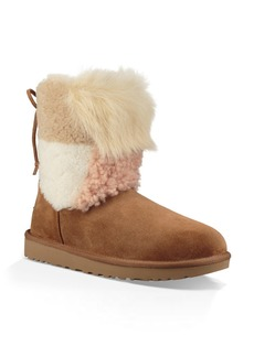 UGG(R) Patchwork Fluff Classic Bootie (Women)
