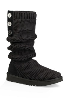 UGG(R) Purl Cardy Knit Boot (Narrow Calf)