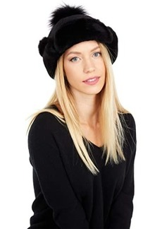 UGG Up Flap Water Resistant Sheepskin Hat