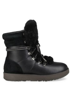 UGG Viki Waterproof Shearling & Leather Boots