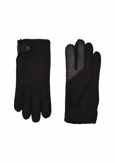 UGG Water Resistant Sheepskin Side Tab Tech Gloves