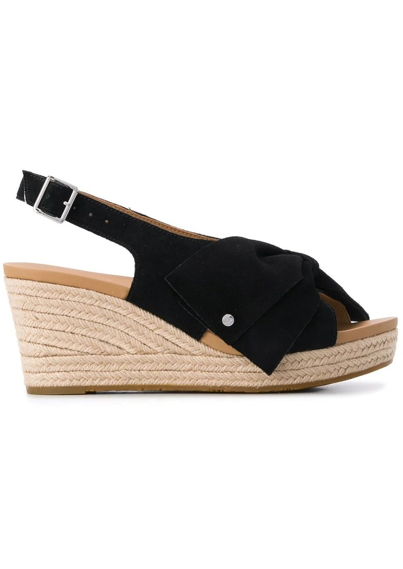 UGG Ysidra jute wedge sandals