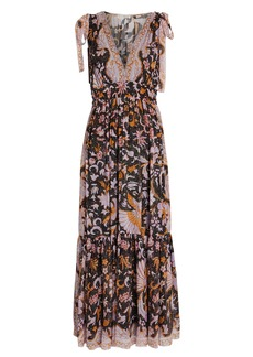 Ulla Johnson Annalise Floral Silk Maxi Dress