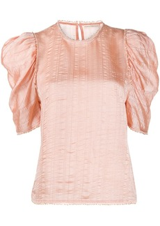 Ulla Johnson Arleigh ruffle sleeve blouse