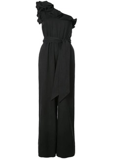 Ulla Johnson asymmetric frill trim jumpsuit
