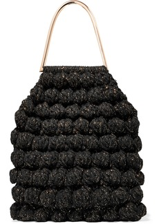 Ulla Johnson Barranco Crocheted Cotton And Lurex-blend Tote