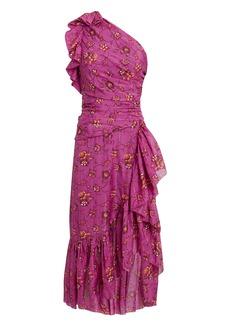 Ulla Johnson Belline One Shoulder Dress