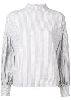 Ulla Johnson buttonless striped shirt