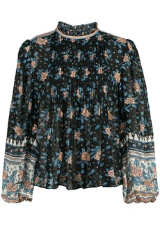 Ulla Johnson Cass floral print blouse