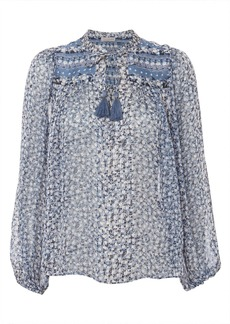Ulla Johnson Constance Floral Blouse