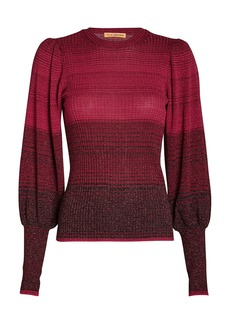Ulla Johnson Dax Ombré Knit Sweater