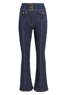 Ulla Johnson Ellis Crop Flare Jeans