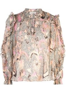 Ulla Johnson floral blouse