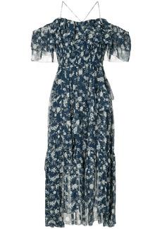 Ulla Johnson floral print asymmetric dress