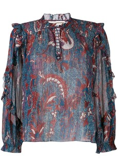 Ulla Johnson floral-print blouse